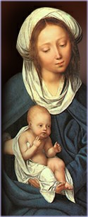Mary and Jesus picture